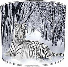 Premier Lighting Ltd 8 inch White Tigre Childrens