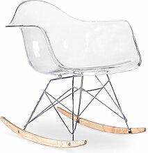 Premium Chaise à bascule Rarwick - Transparent