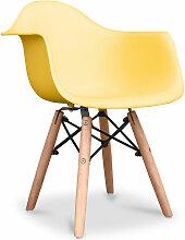 Premium Chaise Enfant Dawick - Matt Jaune