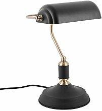 Present time - Lampe à poser antique fer noir et