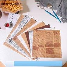 Présentoir à frites en papier résistant à la