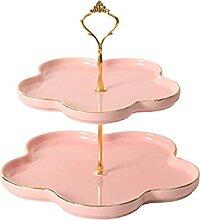 Présentoir Stand de gâteau en céramique Table