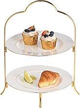 Présentoirs à gâteau Table de dessert de
