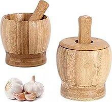 Presse-ail en bambou - Pour la cuisine - Manuel