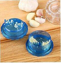 Presse-ail multifonction en plastique pour cuisine