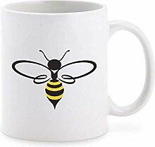 Pretty Assortment of Bumble Bees Cartoon Art