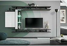 Price Factory - Ensemble meuble TV mural TONY