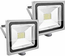 PrimLight 2pcs 80W Projecteur LED Détecteur de