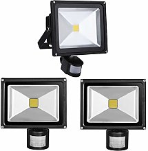 PrimLight 3X 30W Led Projecteur Détecteur de