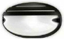 Prisma - PLAFONIERA CHIP GRILL OVAL COLOR BLACK