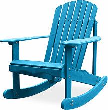 Privatefloor - Chaise à bascule de jardin