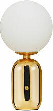 Privatefloor - Lampe en métal doré avec