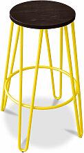 Privatefloor - Tabouret de bar hairpin 66 cm -
