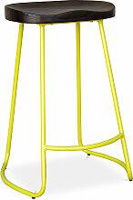 Privatefloor - Tabouret de bar Industriel 66cm