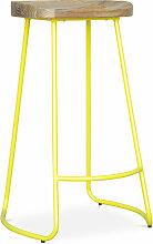 Privatefloor - Tabouret de bar Industriel 76cm