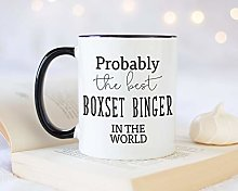 Probably The Best Boxset Binger in The World Tasse