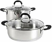 ProCook Gourmet Stainless Steel - Set 2 Pièces -