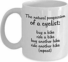 Progression naturelle d'une tasse de café
