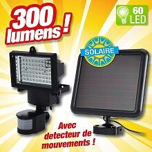 Projecteur à énergie solaire pour une meilleure