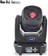 Projecteur à tête mobile 100W, projecteur à