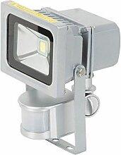Projecteur alu à LED avec détecteur de mouvement