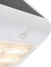 Projecteur blanc IP65 avec LED et capteur de