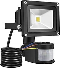Projecteur d'extérieur LED avec détecteur de