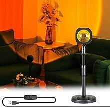 Projecteur de Coucher de Soleil, Lampe de