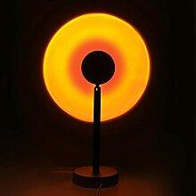 Projecteur de lampe de coucher du soleil,veilleuse