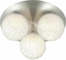 Projecteur de plafond design boule lumière lampe