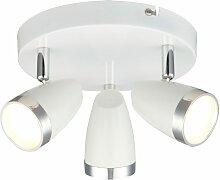 Projecteur de plafond LED 12 watts éclairage rond