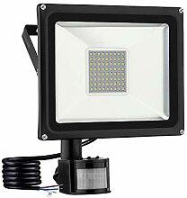 Projecteur détecteur mouvement LED exterieur