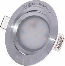 Projecteur encastré de plafond à LED, éclairage