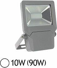 Projecteur extérieur LED 10W (90W) IP65 Finition
