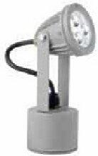 Projecteur extérieur LED 5W orientable aluminium