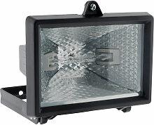 Projecteur halogène 120W Noir sans détecteur -