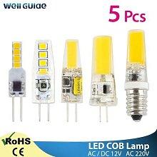 Projecteur halogène de remplacement, lampe COB G4
