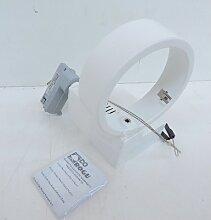 Projecteur halogène orientable blanc rail 3