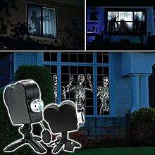 Projecteur holographique d'Halloween,
