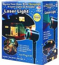 Projecteur Laser Extérieur Rouge et Vert, Etoiles