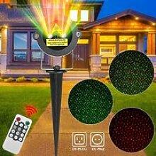 Projecteur Laser Extérieur Rouge et Vert