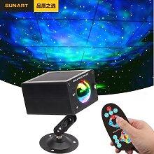 Projecteur Laser stroboscopique LED effet galaxie