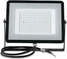 Projecteur LED 100W 8000 Lumens VTAC Pro NOIR IP65
