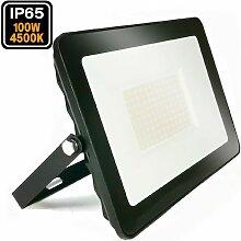 Projecteur LED 100W Ipad blanc neutre 4500K Haute