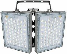 Projecteur LED 200W, IP65 Imperméable, 18000LM,