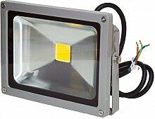Projecteur LED 20W 12/24V Blanc Chaud IP65