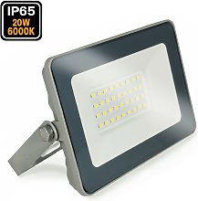 Projecteur LED 20W ProLine blanc froid 6000K Haute