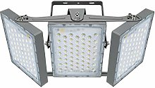 Projecteur LED 300W, IP65 Imperméable, 27000LM,