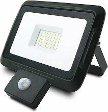Projecteur LED 30W avec détecteur de mouvements