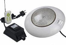 Projecteur LED 406 RGBW 35W pour piscine bois -
